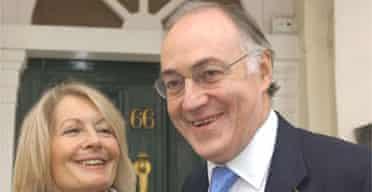 Michael Howard and his wife, Sandra