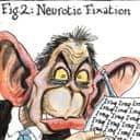 Martin Rowson cartoon on Blair's sanity