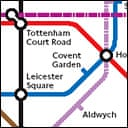 Detail from Ken Livingstone's 2016 proposed London transport map