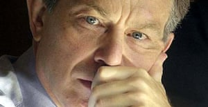 A pensive Tony Blair
