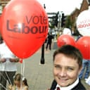 Labour campaign balloon in the Hartlepool byelection