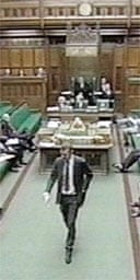 Adam Price leaves the Commons after refusing to withdraw his remarks