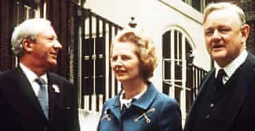 Edward Heath, Margaret Thatcher and Quentin Hogg, 1970 election