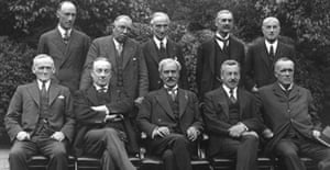 CabinCabinet ministers, August 1931