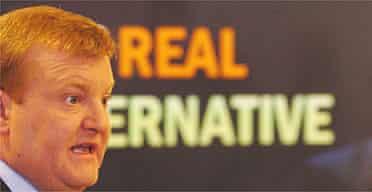 Liberal Democrat leader Charles Kennedy