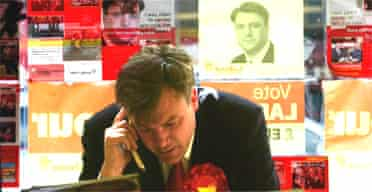 Ed Balls campaigning in West Yorkshire