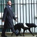 David Blunkett attends his first cabinet meeting