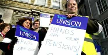 Council and public sector workers on strike