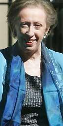 The new foreign secretary Margaret Beckett
