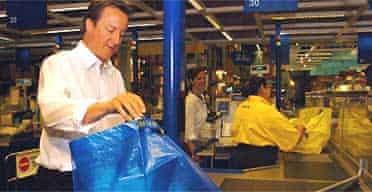 David Cameron at Ikea