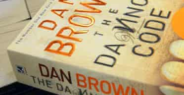 A copy of The Da Vinci Code by Dan Brown in Waterstone's bookshop, Oxford Street, London, April 20 2005
