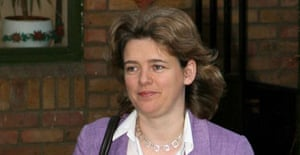 Ruth Kelly leaves her home in London on Monday January 8 2006. Photograph: Lewis Whyld/PA.