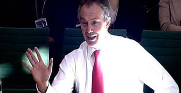 Tony Blair at the liaison committee, February 6 2007. Photograph: PA Wire.