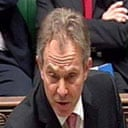 Tony Blair in the House of Commons on February 21 2007. Photograph: PA.