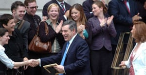 Gordon Brown in London on May 17 2007. Photograph: Stephen Kelly/PA.