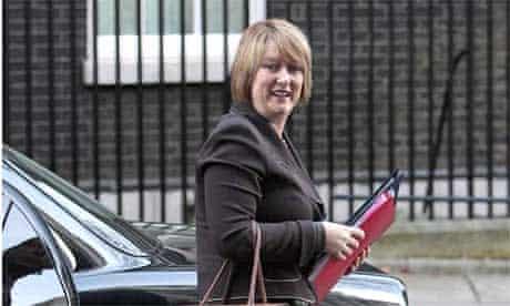 The home secretary, Jacqui Smith