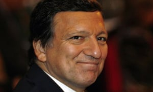 Jose Manuel Barroso, the president of the European commission, in 2007. Photograph: Lluis Gene/AFP/Getty Images