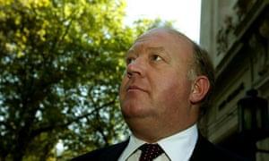 Derek Conway MP. Photograph: Dan Chung