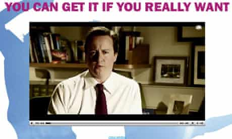 David Cameron in a new Conservative advert