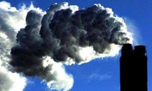 Eggborough power station, near Selby. Climate change. Global warming. Environment. Photograph: John Giles/PA