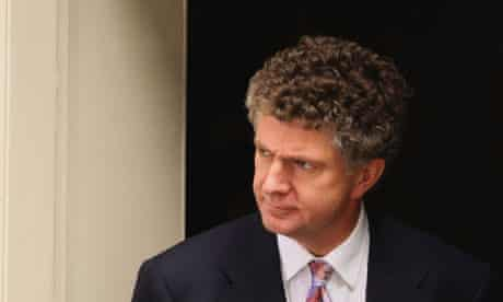 Jonathan Powell leaves Downing Street on June 27 2007. Photograph: Daniel Berehulak/Getty Images