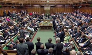 The House of Commons. Photograph: PA