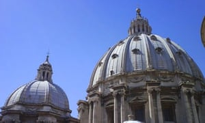 St Peter's basilica in the Vatican, in Rome. Photograph: Paul Owen