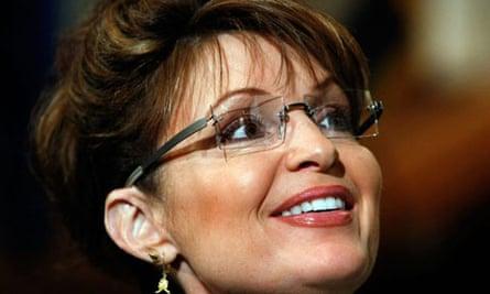 Sarah Palin. Photograph: Win McNamee/Getty Images
