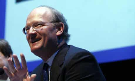 David Willetts at a Guardian debate on the Tories' greatest hero, at the Conservative conference in Birmingham on September 29 2008. Photograph: Martin Argles