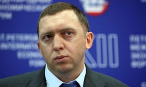 Oleg Deripaska. Photograph: Alexander Aleshkin/Epsilon/Getty Images