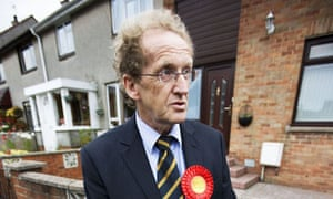 Lindsay Roy, Labour's candidate in the Glenrothes byelection. Photograph: Murdo Macleod