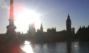 The Houses of Parliament in London. Photograph: Paul Owen