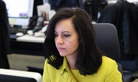 Caroline Flint, Europe minister, during a live webchat for the Guardian.