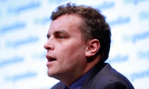 Tim Montgomerie speaking at Conservative party conference fringe event last year