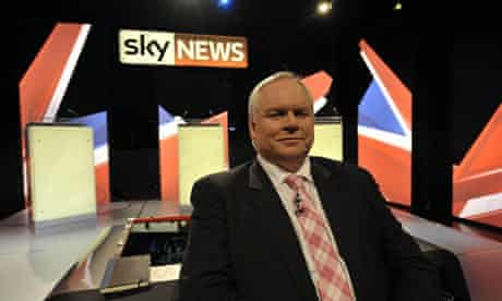 Adam Boulton on the Sky News set in Bristol where he will moderate the live election debate tonight