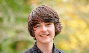 14-year-old Alfie McKenzie, who voted in the general election