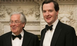 Mervyn King and George Osborne on 16 June 2010