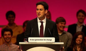 Ed Miliband delivers his keynote speech at the Labour party conference