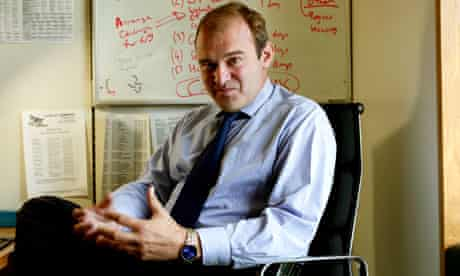 Employment relations minister Ed Davey, who said default retirement at 65 will be phased out