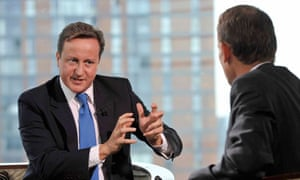 David Cameron speaks on The Andrew Marr Show
