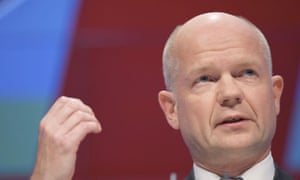 William Hague at the Conservative party conference