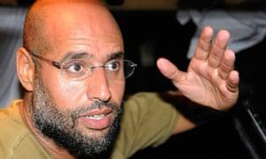 File photo of Saif al-Islam