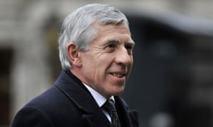 Jack Straw arrives to give evidence at the Iraq inquiry on 2 February 2 2011