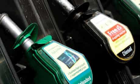 George Osborne cut fuel duty by 1p a litre