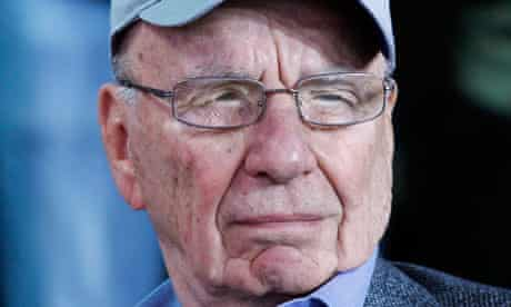 News Corporation chief Rupert Murdoch