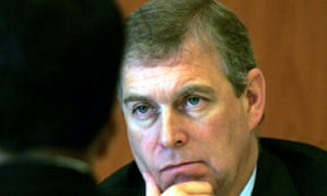 File photo of Prince Andrew, the Duke of York