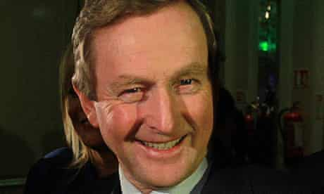File photo of taoiseach Enda Kenny, who visits Downing Street today