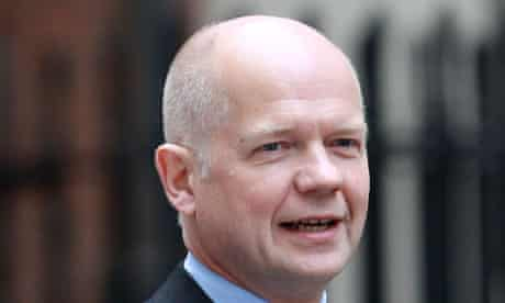 Syria can still be persuaded to do the right thing, William Hague said today