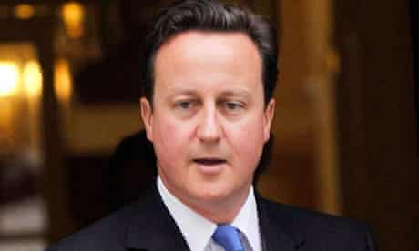 David Cameron, who has offered his strongest support yet for House of Lords reform