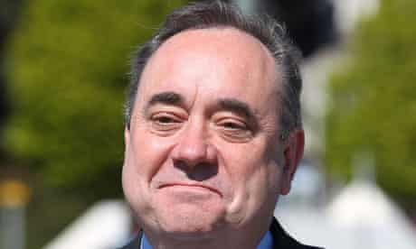 Alex Salmond has attacked the decision to hold the referendum on the day of the Holyrood elections